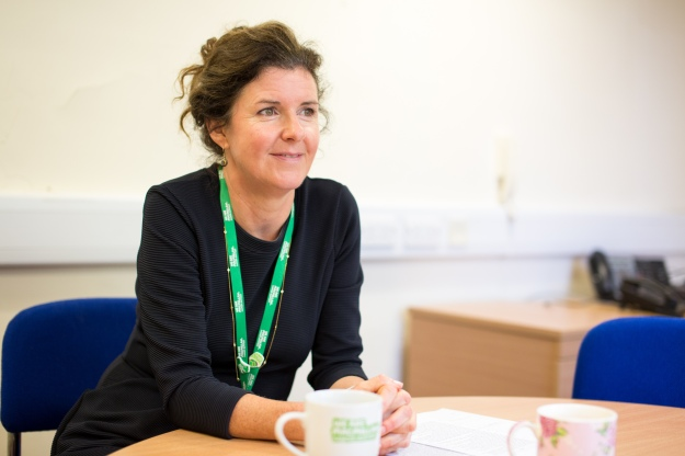 Gill Knight, Macmillan Lead Cancer Nurse for the South Wales Cancer Network