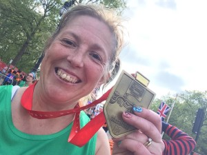 jan with medal