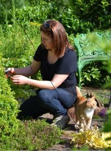 Macmillan Legacy Garden Designer Sarah Wilson