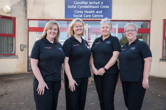 The Lymphoedema Network Wales Team
