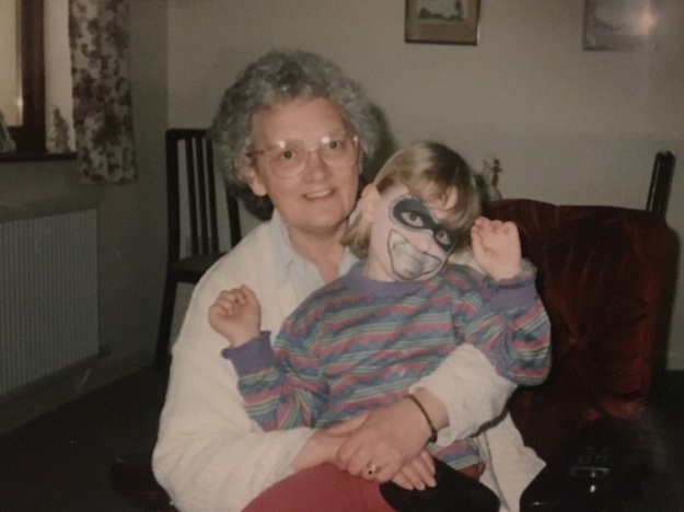02 Lucy Blayney, aged 6, with her nan Shirley Blayney